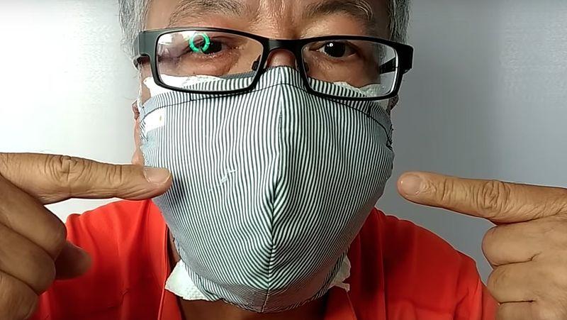 Met deze uitleg voor zelfgemaakte mondkapjes pakt Hongkong corona aan