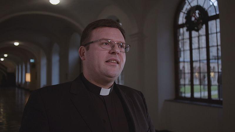 Rector Lambert Hendriks van de priesteropleiding Rolduc
