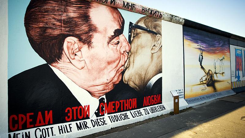 De kus op de Berlijnse Muur