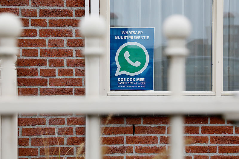 4000 man in de Buurtwhatsapp maken Nieuwerkerk veiliger