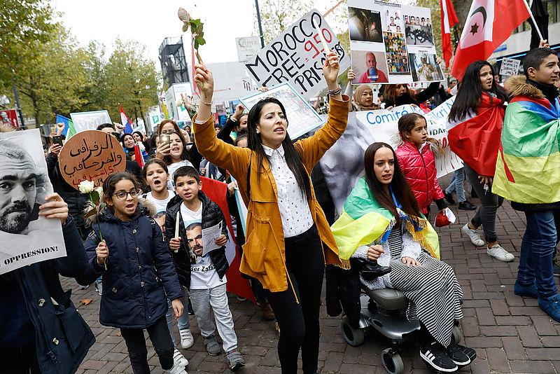 Hoe gaan Nederlandse Marokkanen om met protesten in het Rifgebied?