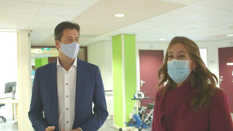 VVD-Kamerlid Hayke Veldman en GroenLinks-Kamerlid Corinne Ellemeet