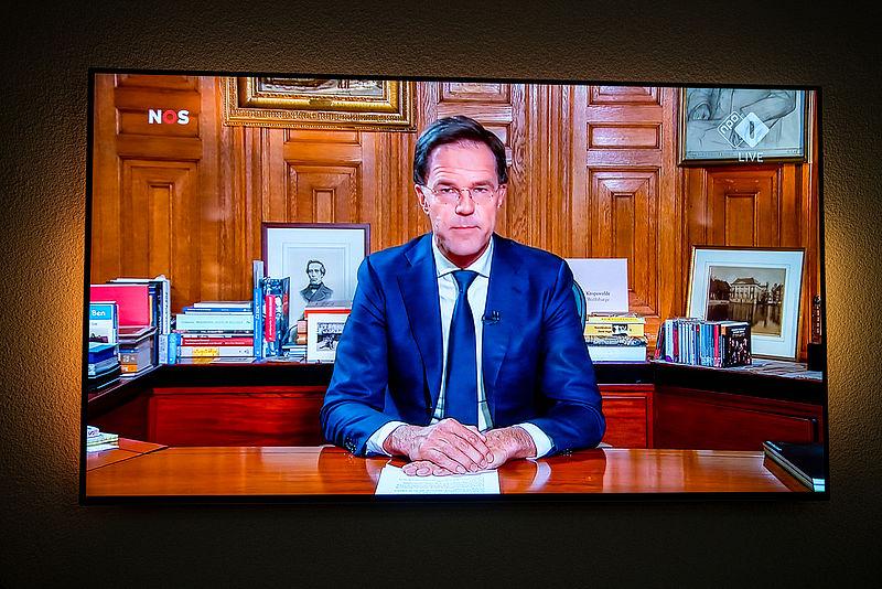 Groot vertrouwen in Rutte én zijn aanpak van het coronavirus na toespraak