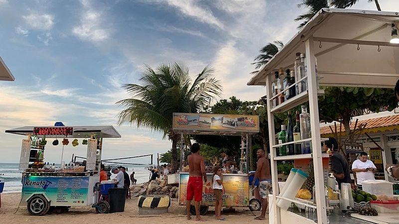 Strandbarretjes van Jericoacoara