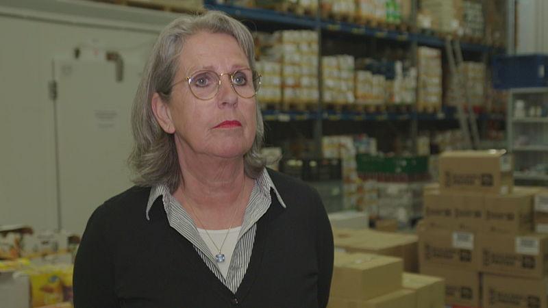 Annita van Nieuwenhuizen, bedrijfsleider voedselbank Amersfoort