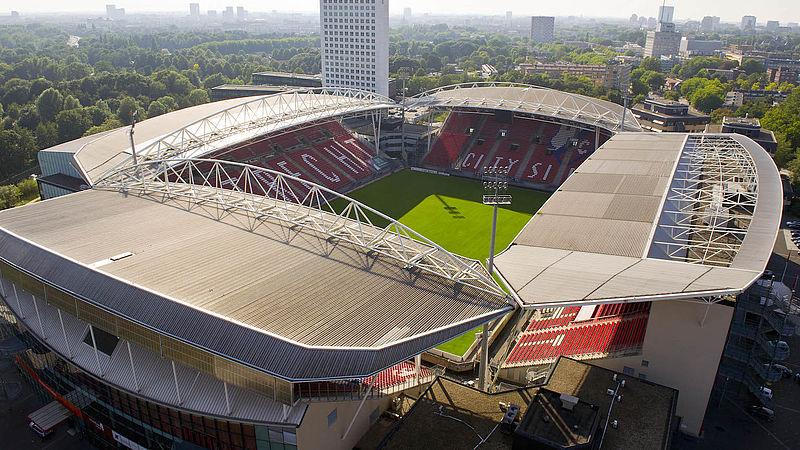 Stadion FC Utrecht van zelfde makers als deels ingestort AZ-stadion: 'Extra onderzoek nog niet nodig'