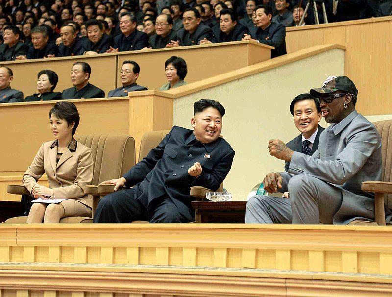 Dennis Rodman bedankt zichzelf voor diplomatie Kim Jong-un en Trump