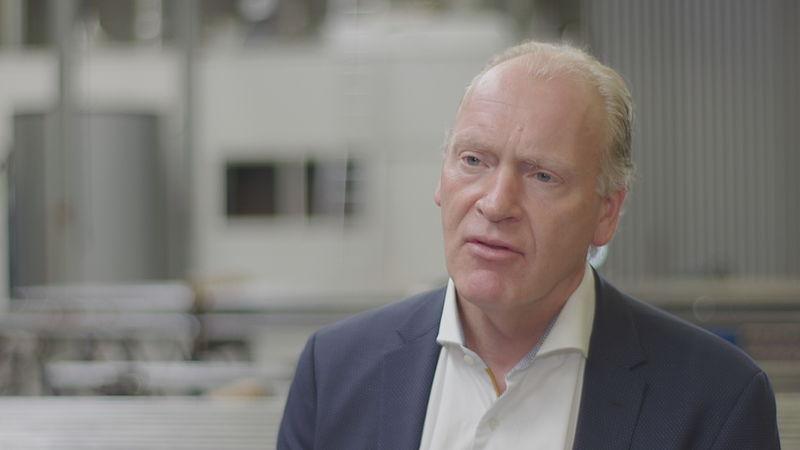 Ondernemer Marcel de Groot
