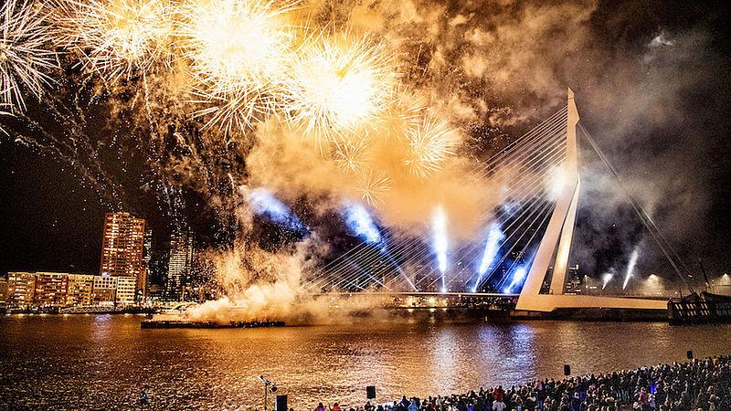 Vuurwerkshow Rotterdam 2018/2019