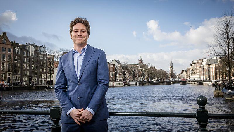 Kroegbaas in Amsterdam-Zuid en D66 Amsterdam fractievoorzitter Reinier van Dantzig