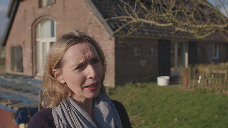 Margot Ribberink verplaatste haar oude boerderij 800 meter op wieltjes om ruimte te maken voor de rivier