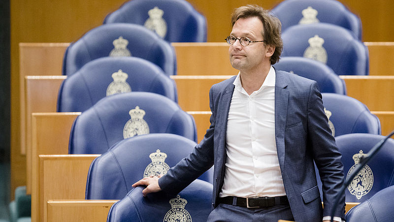 Ronald van Raak (SP) in de Tweede Kamer