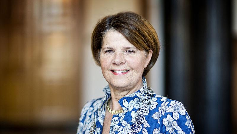 Burgemeester Marja van Bijsterveldt van Delft