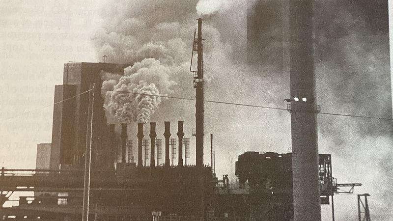 Zweedse staalfabriek