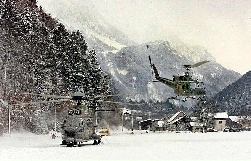 'Lawines Oostenrijk worden opgewekt door helikopters'