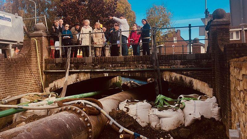 Waterschap Limburg wandelt met betrokkenen langs de Gulp