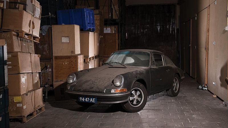 De Porsche van prins Claus.
