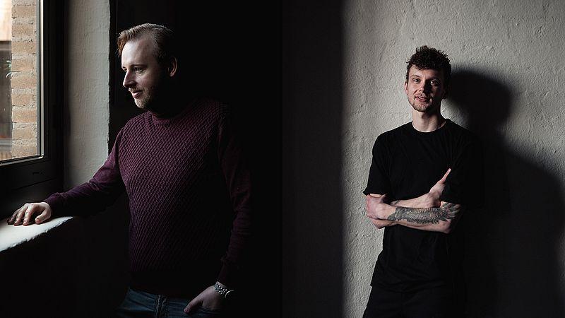 Bedrijfsleider Evert Jan en chef-kok Niels van restaurant DeZusters