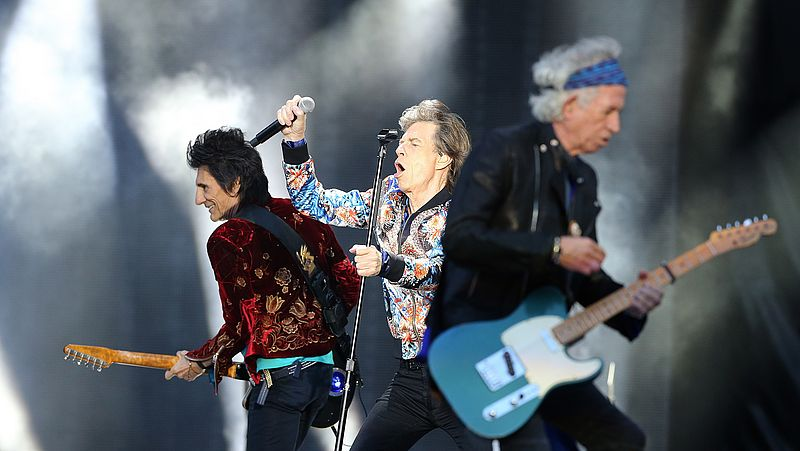 Mick Jagger, Keith Richards en Ronnie Wood op The Rolling Stones 'No Filter'-tour