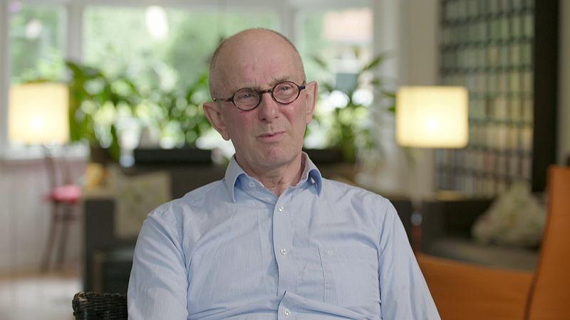 Oud-klinisch vaccinolog Hans Rümke