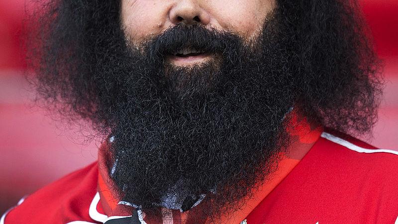 'De gemiddelde baard is viezer dan een hondenvacht'