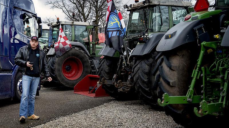 Steeds minder steun voor boerenprotesten want 'het is nu wel duidelijk wat ze willen'