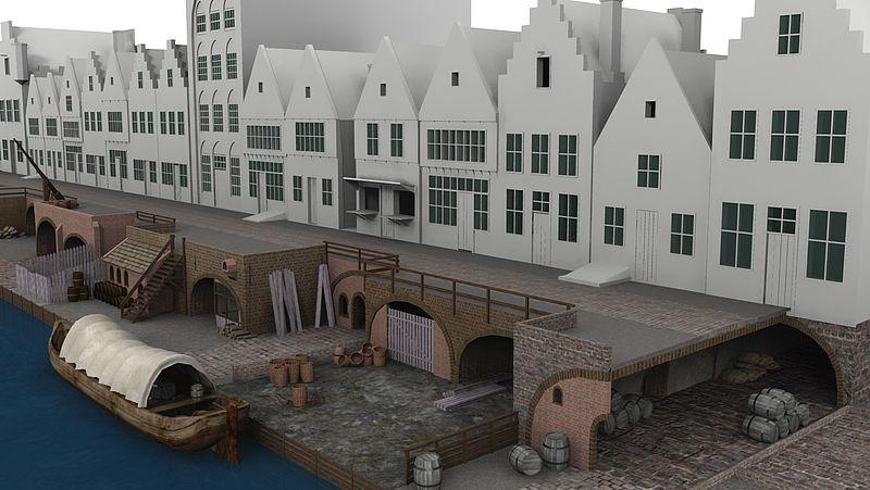 werfkelders begin zestiende eeuw Oudegracht