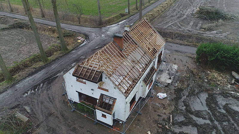 Slopen huizen Hedwigepolder