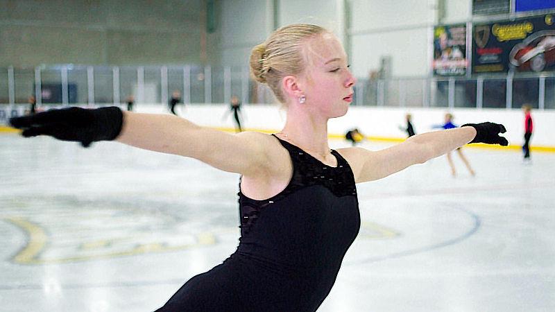 Al een halve eeuw wachten we op een kampioen kunstschaatsen, met Lindsay (14) zou het kunnen