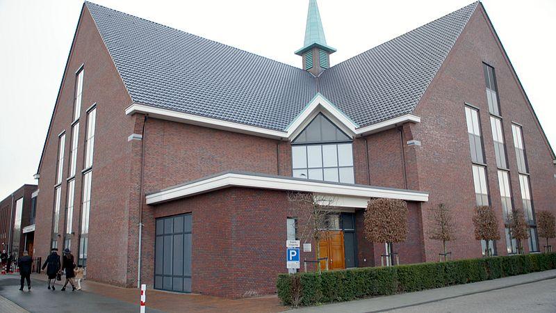 De gereformeerde kerk in Opheusden