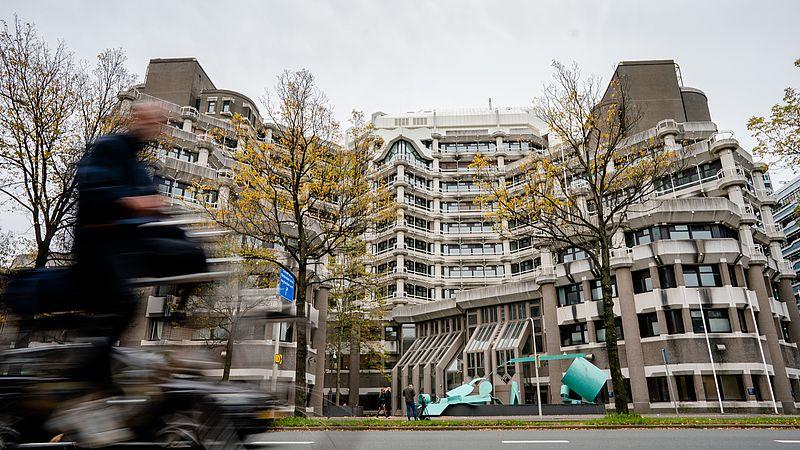 Het gebouw van het voormalig ministerie van Buitenlandse Zaken