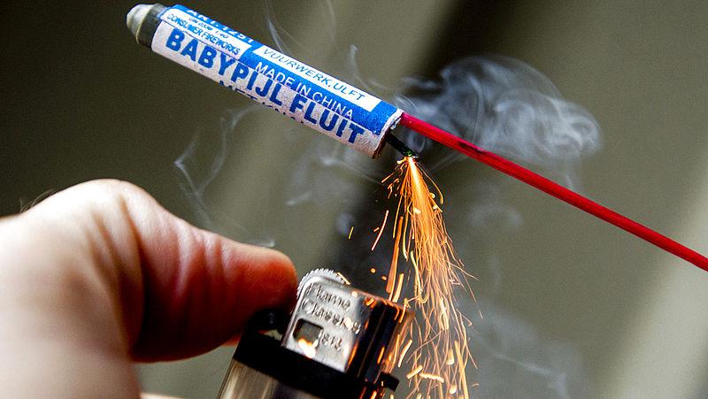 55 procent van vuurwerkletsel wordt veroorzaakt door legaal siervuurwerk