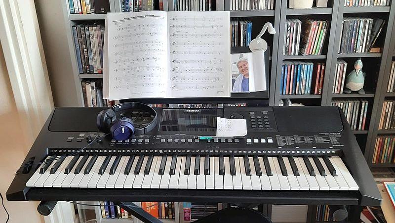 Keyboard van Carla