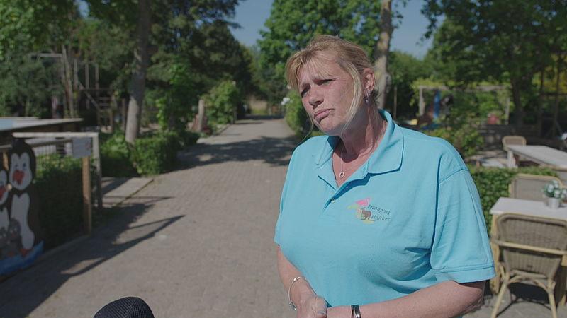 Petra Blokker, directrice van Faunapark Flakkee
