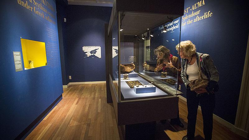 Krimschatten blijven voorlopig bij Allard Pierson Museum, Gerechtshof velt nog geen oordeel