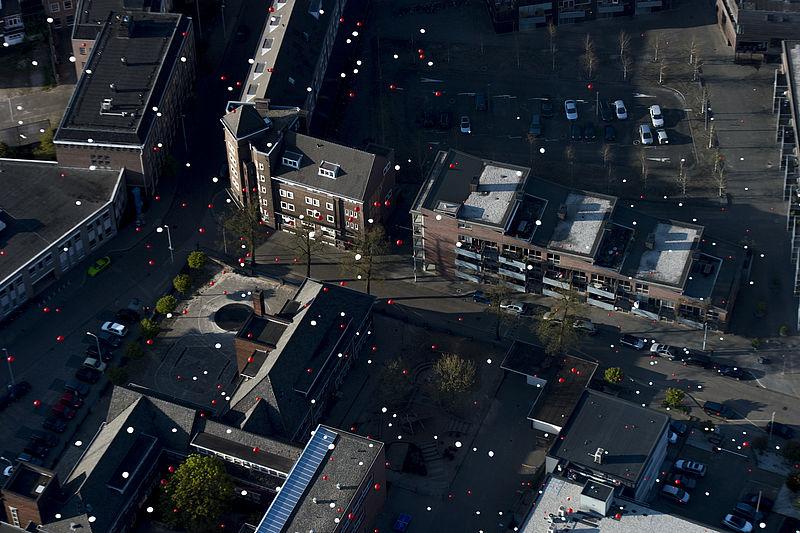 Eindhoven maakt schone lucht met luchtfiltermachine