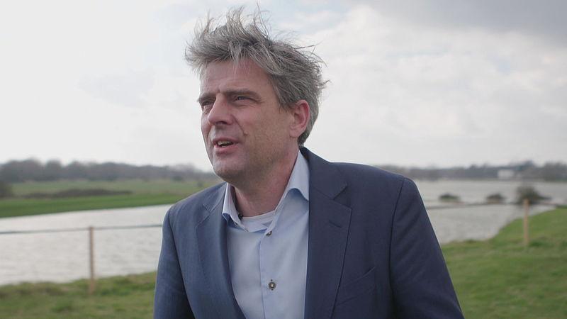 Roeland van der Zee wil het uiterwaardenpark financieren met de bouw van 430 woningen