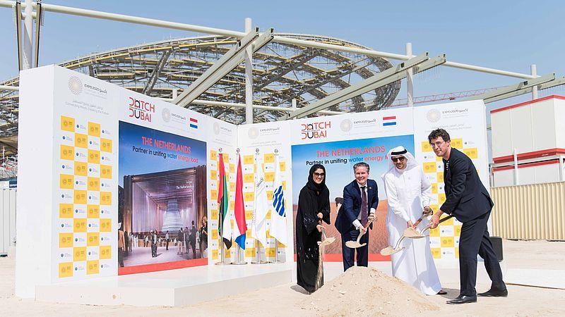 Ground Breaking Day World Expo Dubai