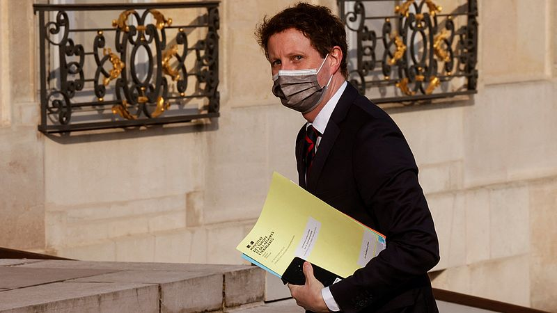 De Franse minister Clément Beaune