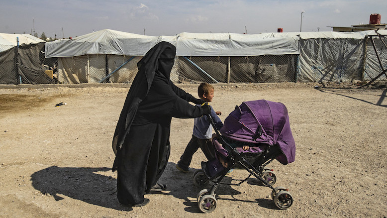 'Als IS-kinderen worden teruggehaald, komen de vrouwen vanzelf mee'