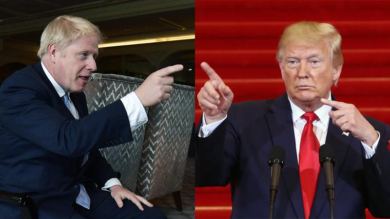 Grote beloftes, ongenuanceerde grappen en wat Boris Johnson en Donald Trump nog meer gemeen hebben
