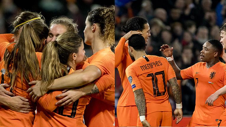 Veel meer vertrouwen in Nederlands vrouwenelftal dan in mannenelftal
