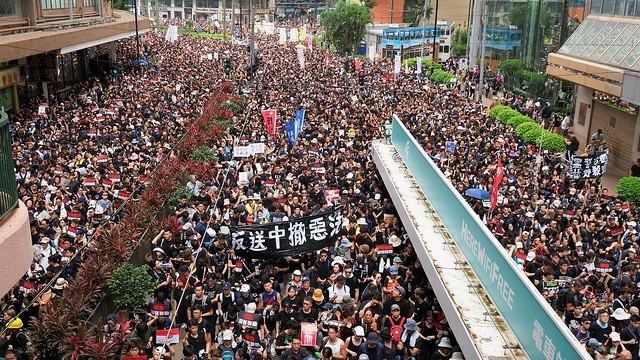 Protesten in Hongkong tegen de uitleveringswet, 16 juni 2019