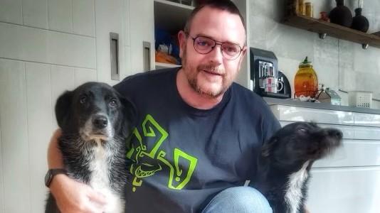 Marty en honden