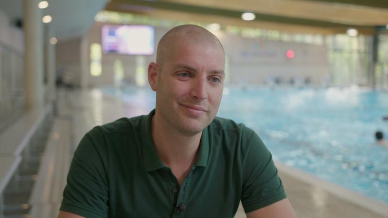 Maarten van der Weijden hoopt dit jaar op meezwemmers: 'Dat maakt het minder eenzaam'