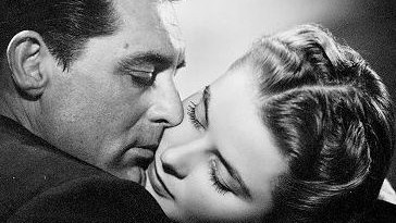 Cary Grant en Ingrid Bergman in Notorious