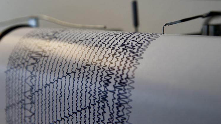 Aardbeving nabij de stad Groningen