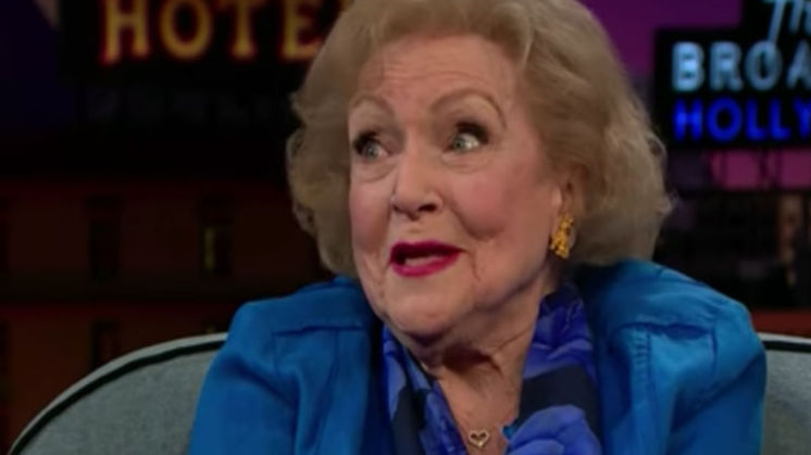 Betty White is 95 jaar