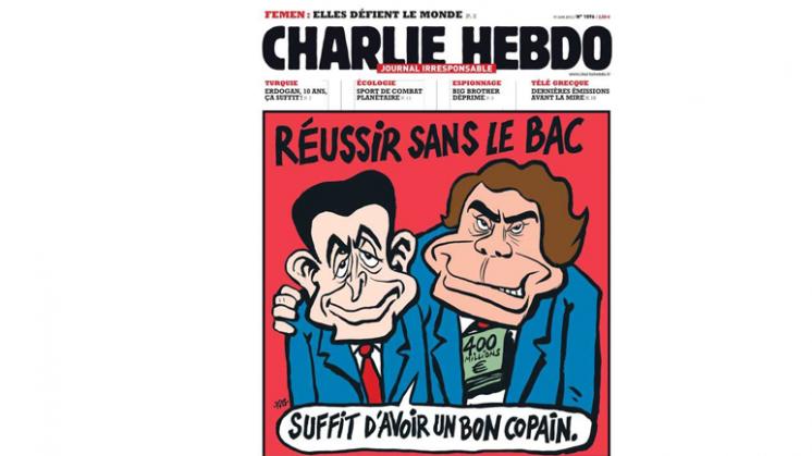 Trending: veel reactie op verbod Charlie Hebdo-poster