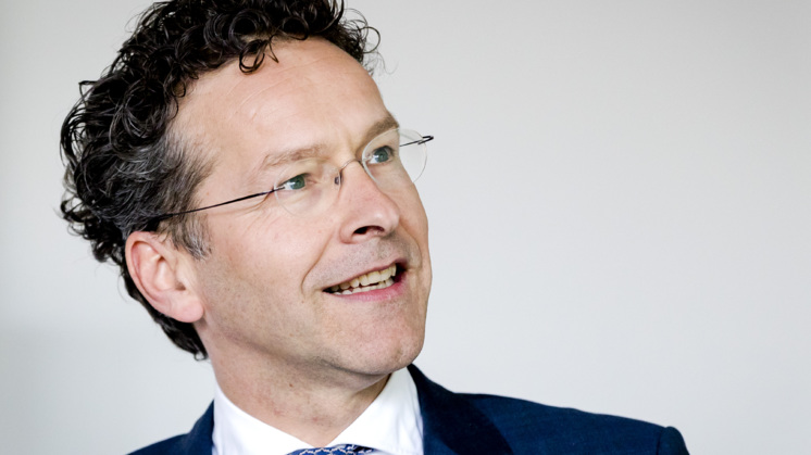 Dijsselbloem Eurogroepvoorzitter, maar hoe lang nog?